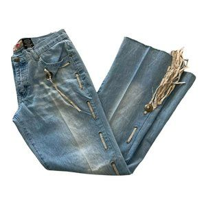 Crest Collection Vintage-Inspired Flared Jean Sz 7